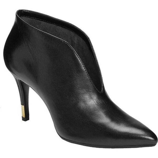 03331245ba6 Shop Aerosoles Women s Idealist Bootie Black Leather - Free Shipping ...