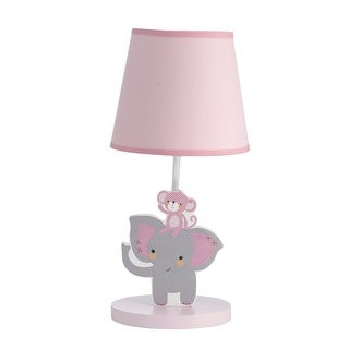 Bedtime Originals Pink Twinkle Toes Lamp with Shade & Bulb