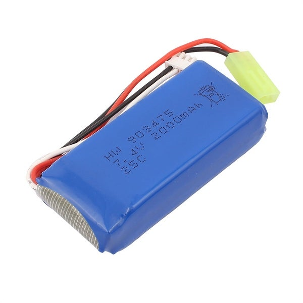 DC 7.4V 2000mAh Recycle Charging Lithium Battery for Aerial Photography
