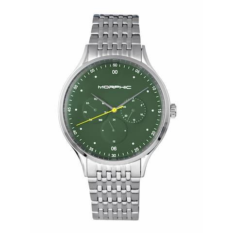 Morphic M65 Series Men's Quartz Watch, Stainless Steel Band