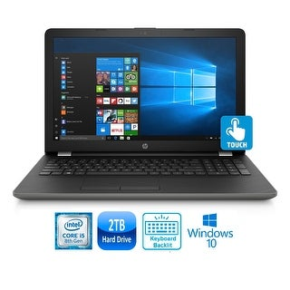 "HP 15-bs168 Intel Core i5-8250 Quad Core 2TB HDD 15.6"" TouchScreen WLED Laptop"