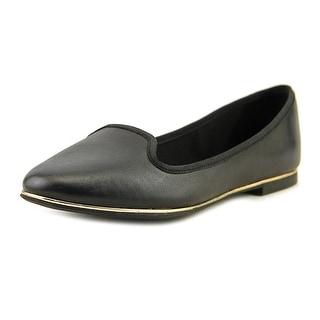 Aldo BOBO Women Round Toe Leather Black Flats