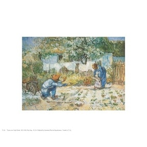 ''First Steps'' by Vincent van Gogh Museum Art Print (8 x 10 in.)