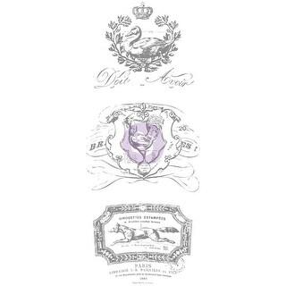 "Iron Orchid Designs Decor Transfer Rub-Ons-6"" Pots B, 8.5""X17"""