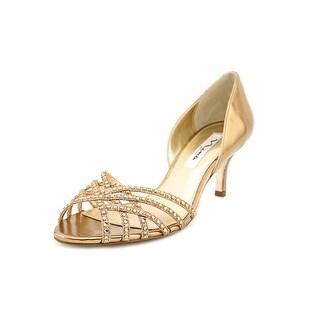 Nina Coastal Women Open Toe Synthetic Bronze Sandals