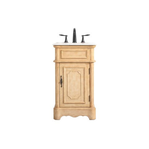 Fabian Bathroom Single Vanity Set