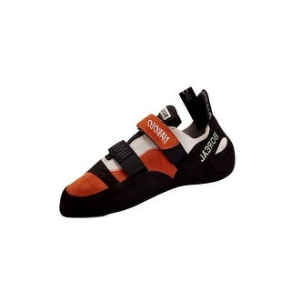 Boreal Climbing Shoes Mens Diabolo Naranja Black White Orange 11227