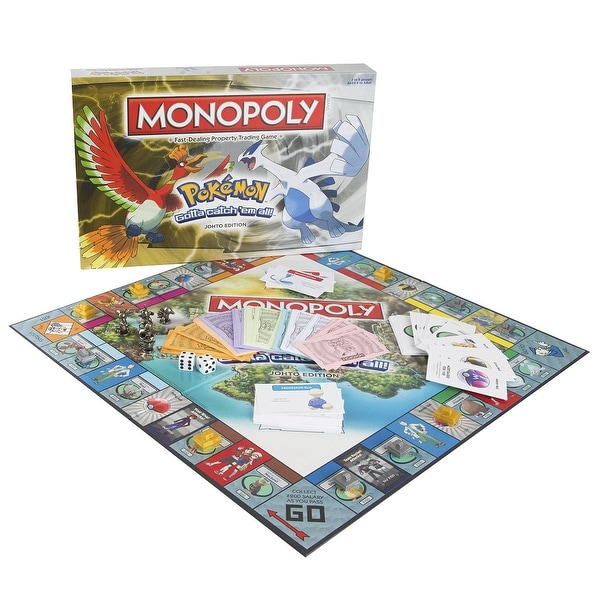 Pokemon Monopoly Johto Edition - multi