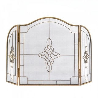 Art Deco Fireplace Screen