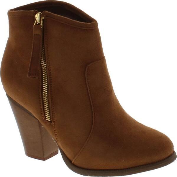 939c8c56439 Shop Liliana Romane-1 Women's Chunky Heel Riding Ankle Booties ...
