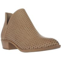 madden girl Blaiine Pull On Cutout Ankle Boots, Taupe