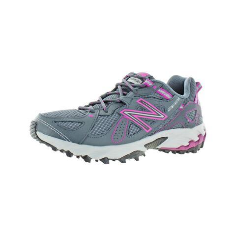 New Balance Womens 573v2 Trail Running Shoes Lifestyle Performance - Grey/Fuchsia Pink - 10 Medium (B,M)