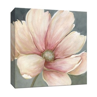 "PTM Images 9-146714  PTM Canvas Collection 12"" x 12"" - ""Winter Blush I"" Giclee Flowers Art Print on Canvas"