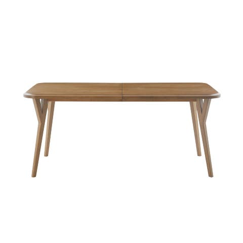 Novak Natural Rectangular Dining Table by INK+IVY