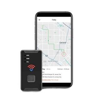 Spytec STI GL300 2019 Model 4G LTE Real Time Mini GPS Tracker f/ Vehicles - Global Portable Device for Cars - Black