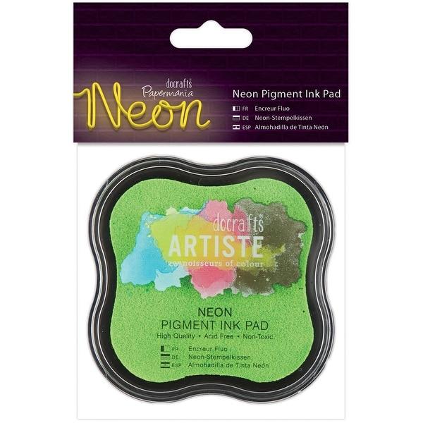 Artiste Neon Pigment Ink Pad-Green