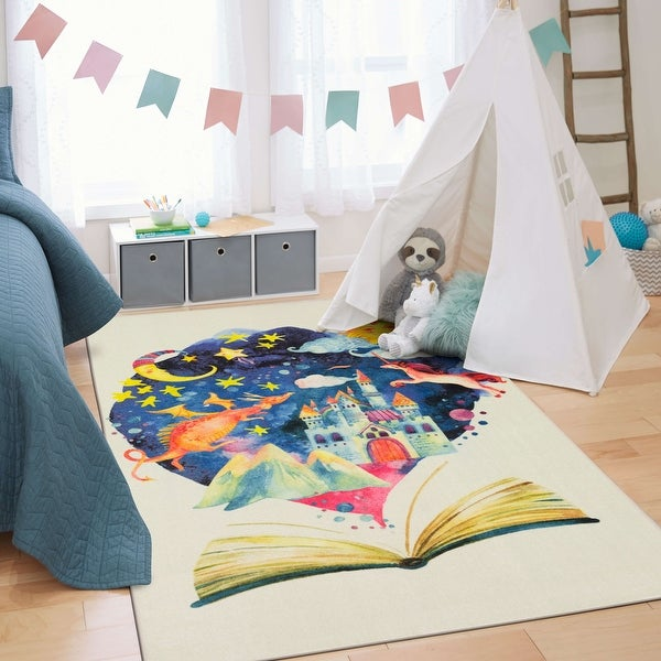 Mohawk Home Tell Me A Story Kids Area Rug. Opens flyout.