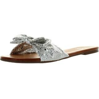 Betani Dora-23 Women Basic Sweet Slide Beach Sandal Flat Slip On Shoe Sandals