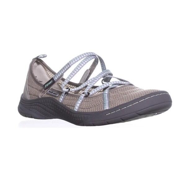 Shop JSport by Jambu Sideline Grey/Mint Encore Sport Flats, Light Grey/Mint Sideline - 9.5 us / 40.5 eu - - 20849085 2b0310