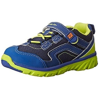 Stride Rite Jake Fashion Sneakers Mesh Inset Leather