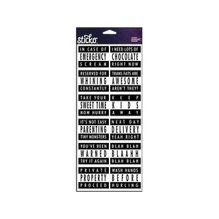 EK Sticko Sticker Stickofy Label Parent Advisory|https://ak1.ostkcdn.com/images/products/is/images/direct/b63b2297c5118f32f93bb30abd6ca7c505cefc06/EK-Sticko-Sticker-Stickofy-Label-Parent-Advisory.jpg?impolicy=medium