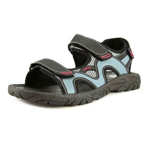 Easy USA S2900-M Black/Gray Sandals