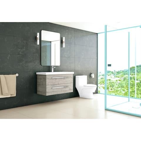 """Arden 36"""" wall-mount vanity"""
