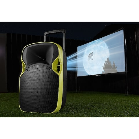 Sharper Image Portable Drive-In Movie Theater