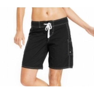 Tommy Bahama NEW Black Women's Size XS Board Shorts Tied Swimwear