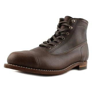 Wolverine Rockford Round Toe Leather Work Boot