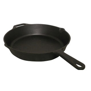 King Kooker CIFP15S Pre-seasoned Cast Iron Skillet, 15""
