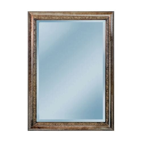"Mirror Masters MW4303B Landers 30"" Rectangular Mirror with Decorative Frame"