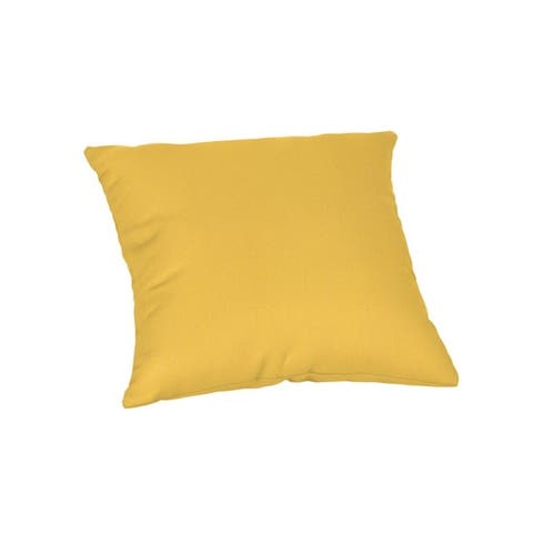 16-inch Square Outdoor Sunbrella Throw Pillow