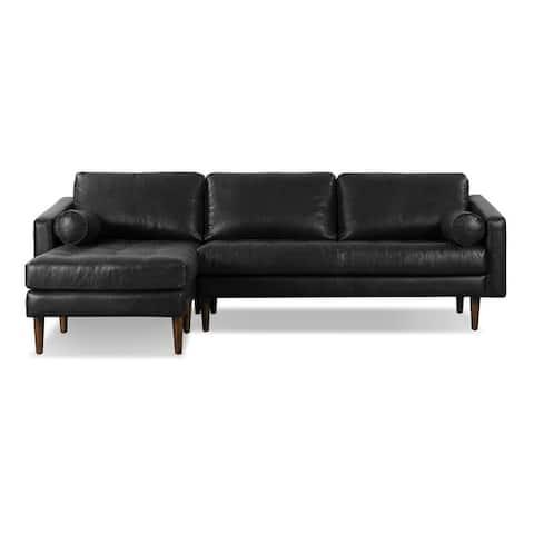 Poly and Bark Napa Left Sectional Sofa