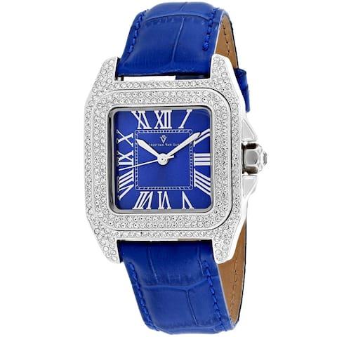 Christian Van Sant Women's Radieuse Blue Dial Watch - CV4421 - One Size