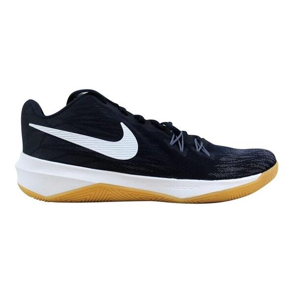 5d9d8b0ac0d98 Shop Nike Zoom Evidence Dark Obsidian White 908976-400 Men s - Free ...