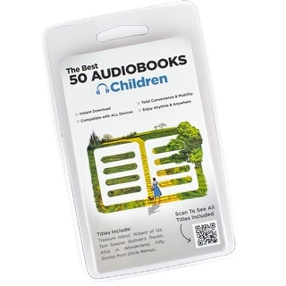 50 Classic Kids Audiobook Collection - Instant Library