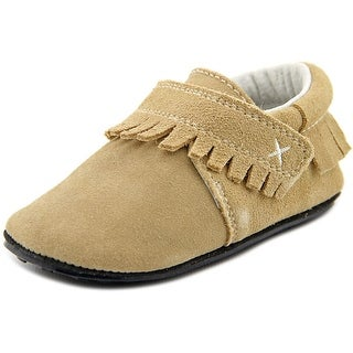 Jack and Lily Fringe Suede Moccasins
