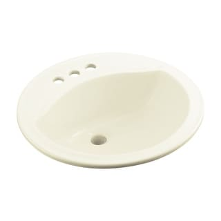 "Sterling 441904  Modesto 19"" Drop In Bathroom Sink With Three Holes Drilled And Overflow"