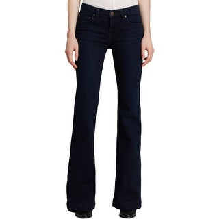 Free People Womens Flare Jeans Denim Flare
