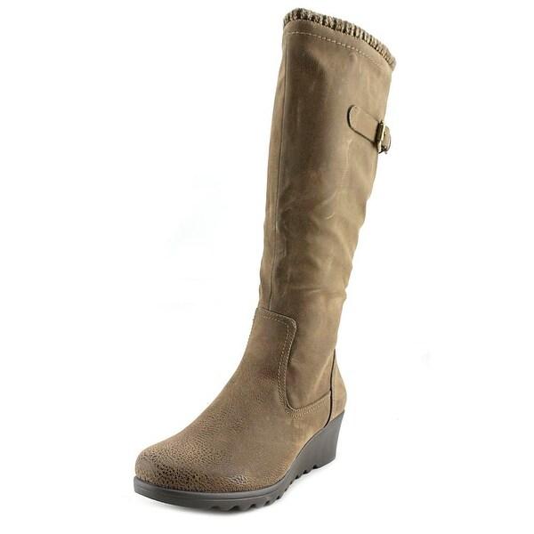 Hokus Pokus Roller Hi Women Brown Boots