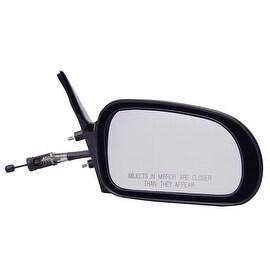 Pilot Automotive TYC 6510111 Black Passenger/ Driver Side Manual Remote Replacement Mirror for Mitsubishi Eclipse