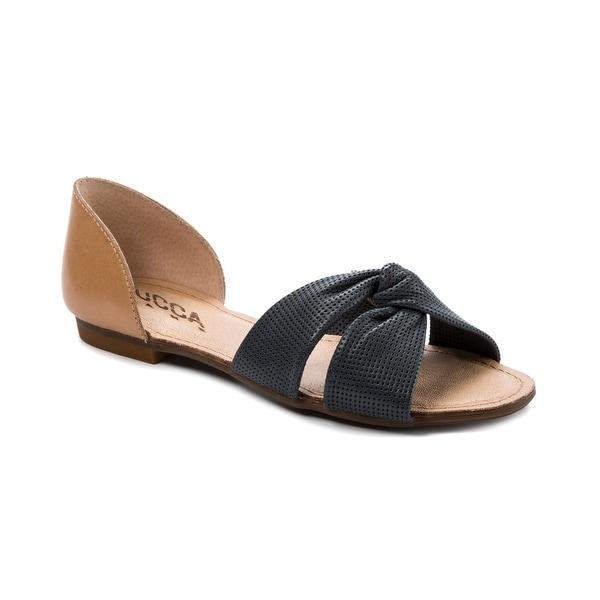 Lucca Lane Darsa Women's Sandals & Flip Flops Navy