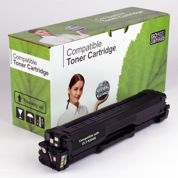 Value Brand replacement for Samsung CLT-K504S, CLP-415NW Black Toner (2,500 Yield)
