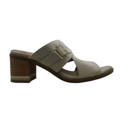 Dr. Scholl's Women's Shoes Spellbound Fabric Open Toe Casual Slide Sandals