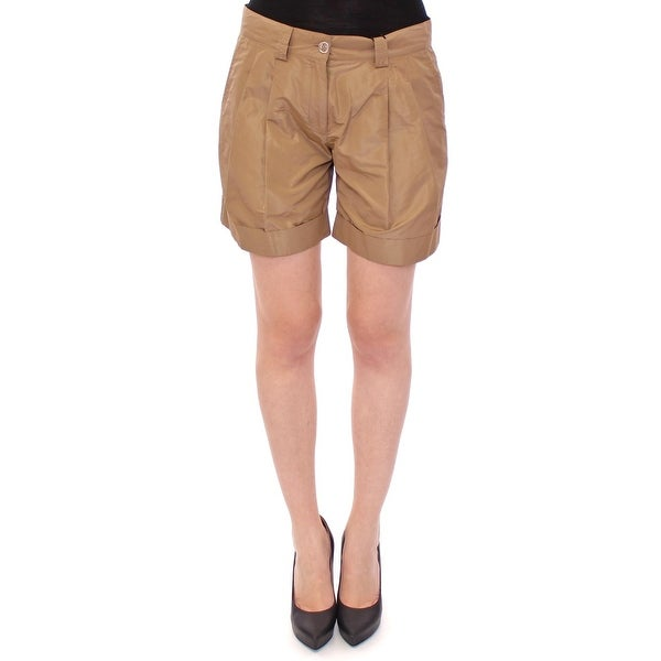 Dolce & Gabbana Dolce & Gabbana Brown chinos shorts pants - it42-m