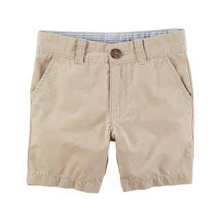 Carter's Little Boys' Uniform Flat-Front Shorts, 4-Kids
