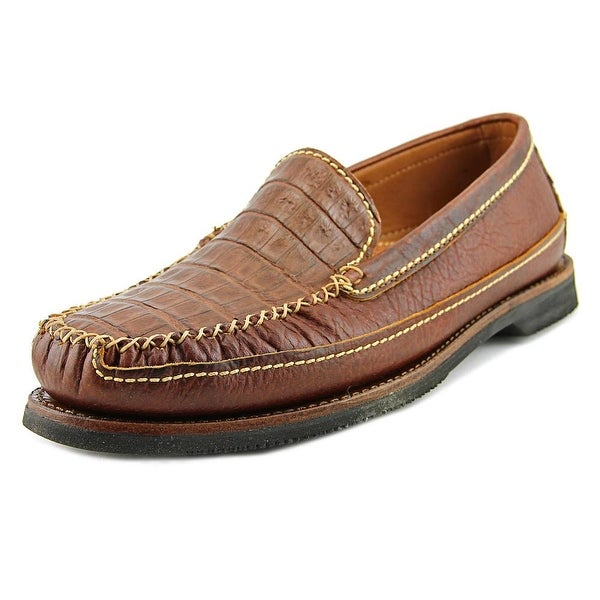 Chippewa Slip On Men Cognac Loafers