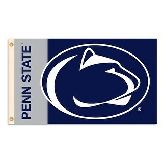 Penn State University Nittany Lions Logo Flag
