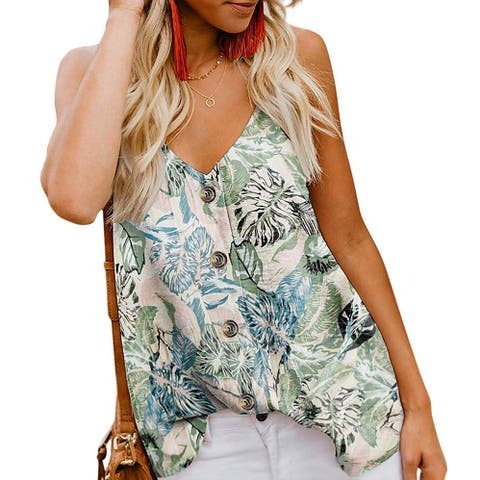d96f8bc7 Polyester, Tank Tops | Find Great Women's Clothing Deals Shopping at ...